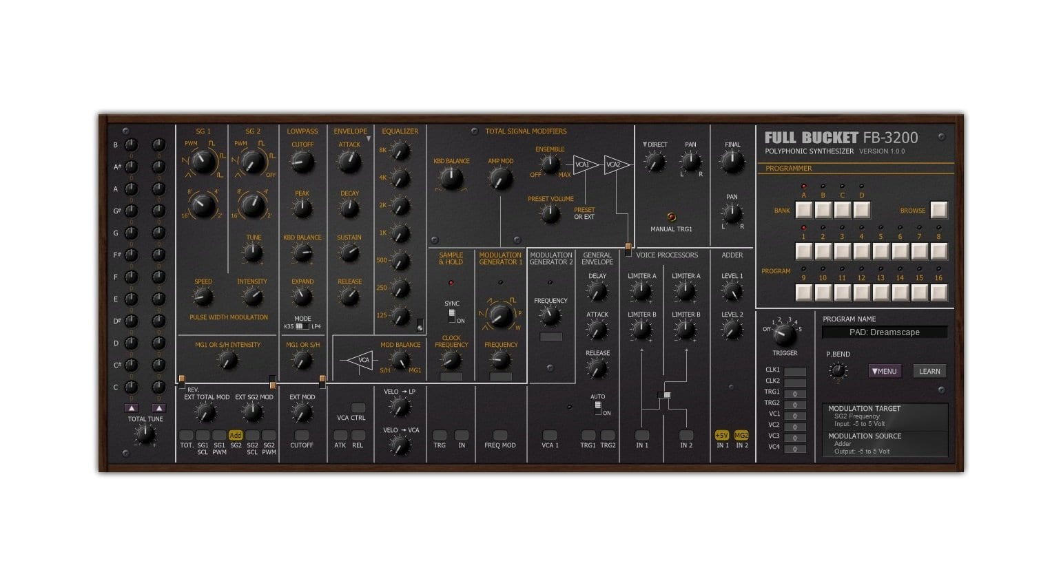 FB3200 synthesizer - best free plug-ins