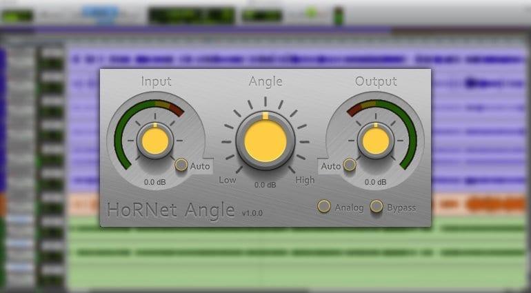 Hornet Angle Free tilt EQ plug-in
