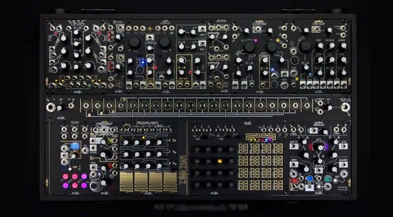 Make Noise Black and Gold Shared System Plus
