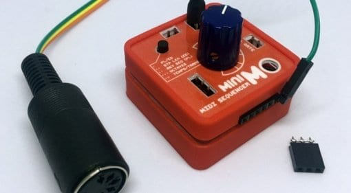 miniMO with MIDI