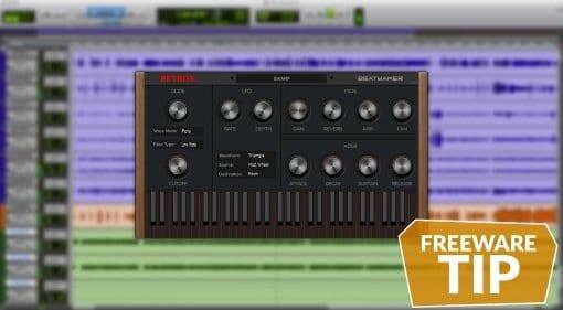 Retrox Beatmaker free VST AU rompler