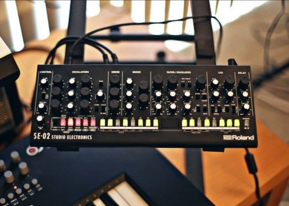 Modded Roland SE-02