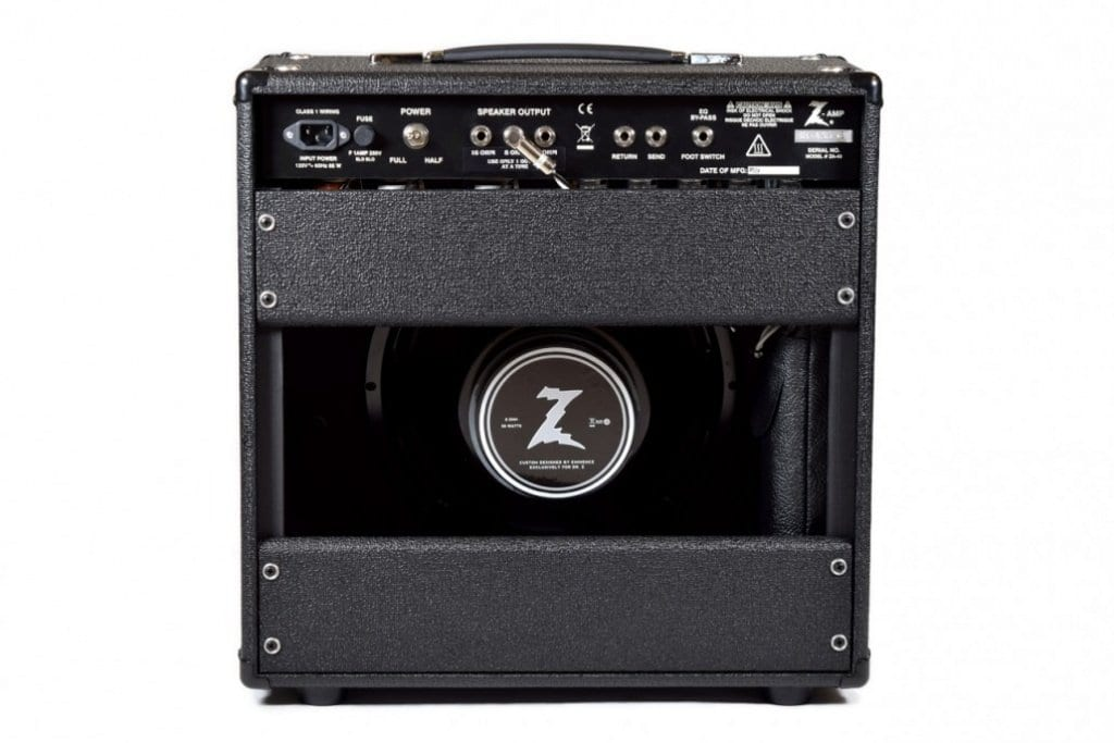 Dr Z Z-Plus 1x12 rear panel