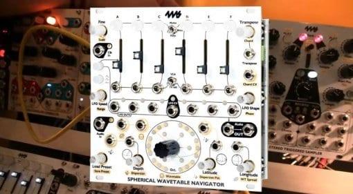 4MS Spherical Wavetable Navigator