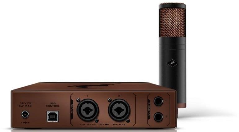 Antelope Audio Discrete MP & Edge modeling microphone - back