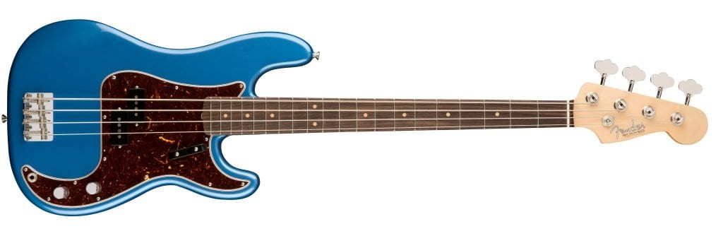 American Original 60's P Bass - Lake Placid Blue