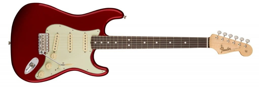 American Original 60's Stratocaster - Candy Apple Red