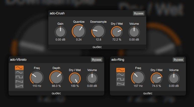 Audec rolls out three awesome free Mac plug-ins: Crush