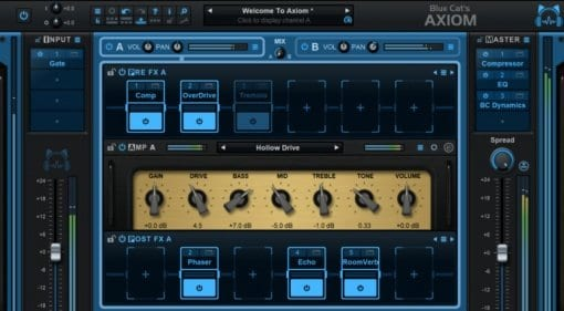 Blue Cat Audio Axiom Amp Simulator software