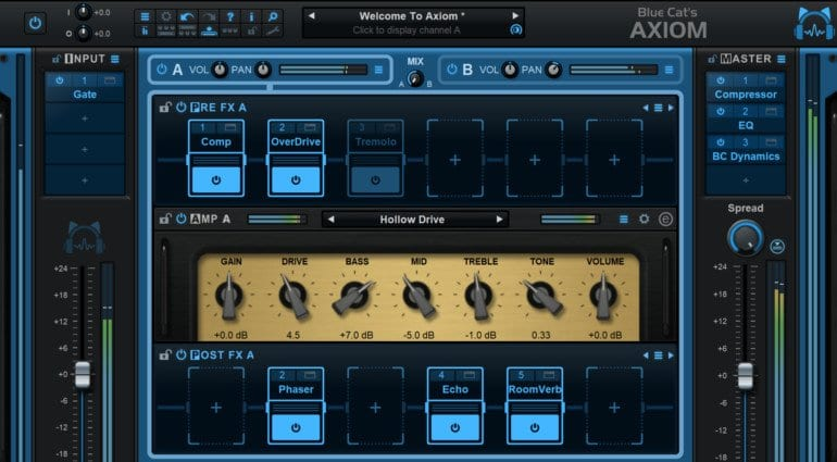 Blue Cat Audio Axiom Amp Simulator software