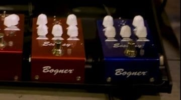 Bogner Mini Ecstasy Red & Blue Overdrive Pedals