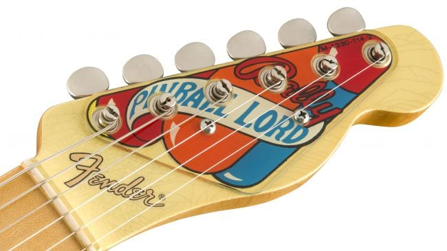 Custom Shop Pinball headstock
