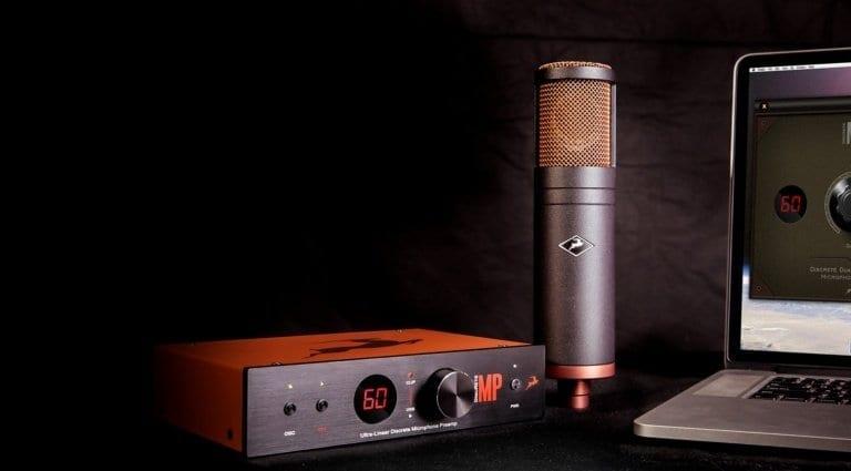 Antelope Audio Discrete MP & Edge modeling microphone