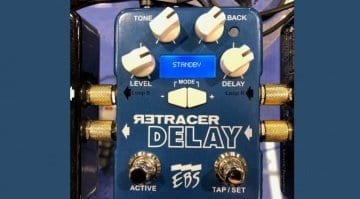 EBS Effects Retracer Delay Pedal