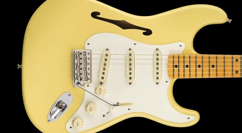 Eric Johnson Thinline Stratocaster Eric Johnson Thinline Stratocaster
