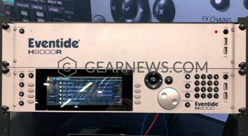 The Eventide H9000 FX processor and H9000R expander unit