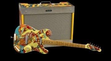 Fender Custom Shop's Yuri Shiskov's Pinball Telecaster