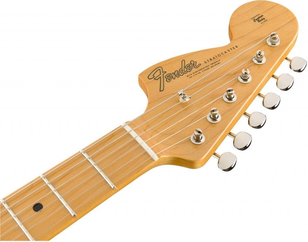 Fender Custom Shop Hendrix Voodoo Strat Reverse NOS headstock