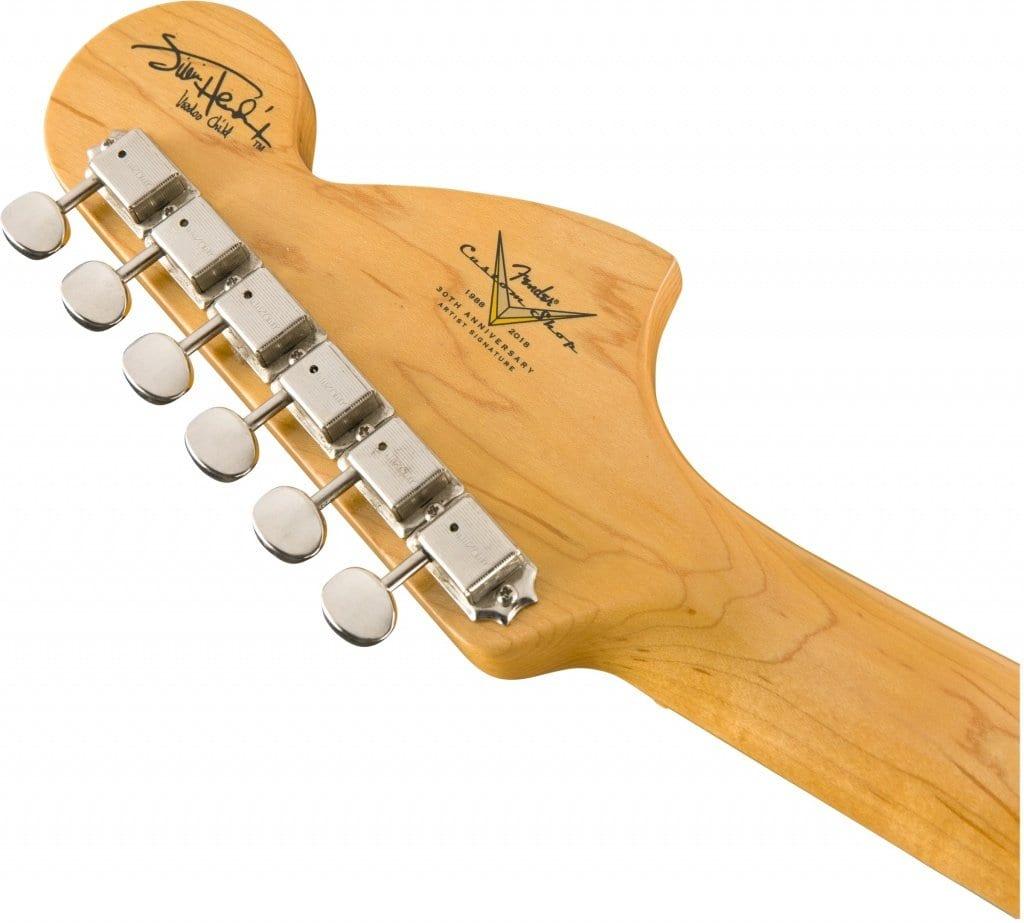 Fender Custom Shop Hendrix Voodoo Strat Reverse