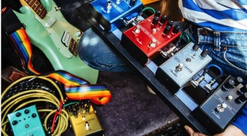 Fender Effects Pedals 2018 lineup