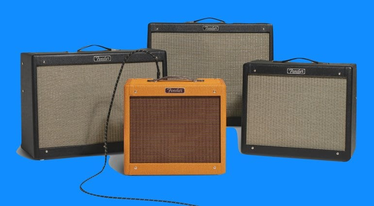 Fender Hot Rod IV 2018 amp range