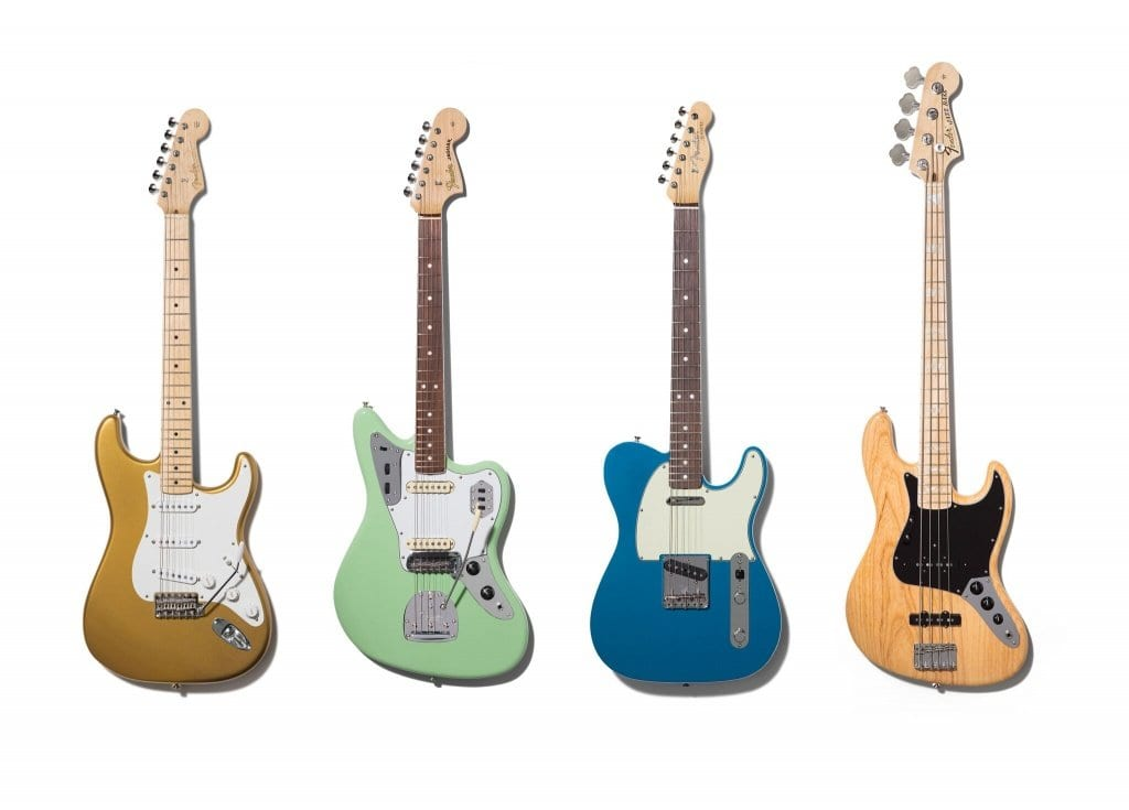 Fender American Original Stratocaster, Jaguar, Telecaster and Jazz Bass