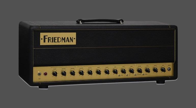 Friedman BE50 Deluxe 50 watt : 3 channel all tube head