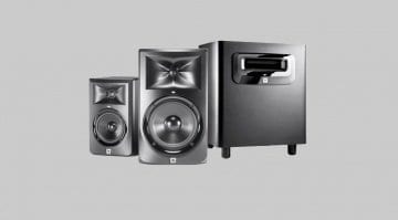 HARMAN JBL 3 Series Powered Studio Monitors