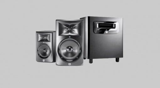 HARMAN JBL 3 Series Powered Studio Monitors