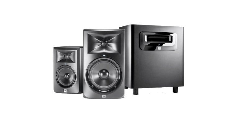 HARMAN JBL 3 Series Powered Studio Monitors header
