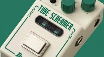 Ibanez Nu Tube Screamer Overdrive pedal