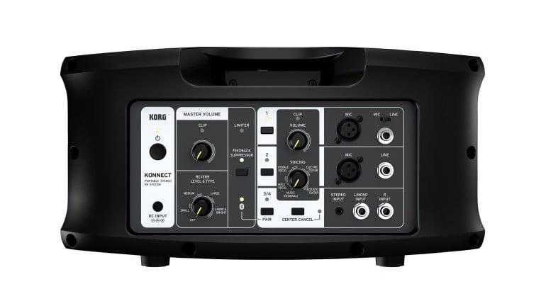 KORG KONNECT - control panel