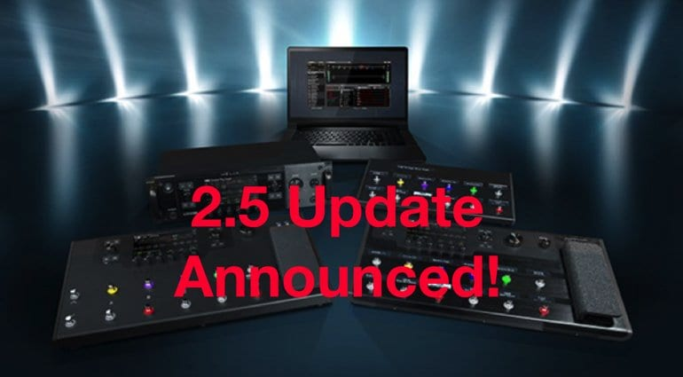 Line 6 Helix 2.5 Update announced