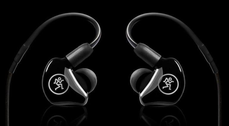 Mackie MP Series in-ear monitors