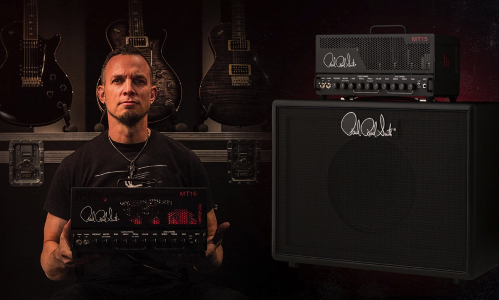 Mark Tremonti PRS MT 15 amp head