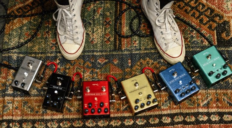 New Fender Effects pedal lineup for 2018