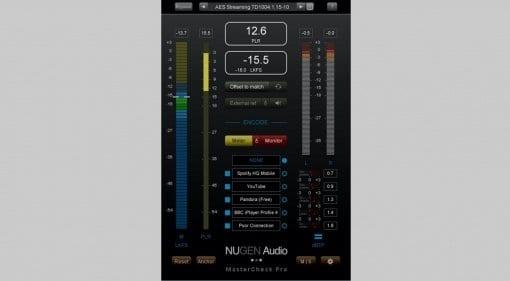 Nugen Audio MasterCheck Pro featured