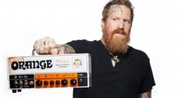 Orange Brent Hinds Terror 15 watt head