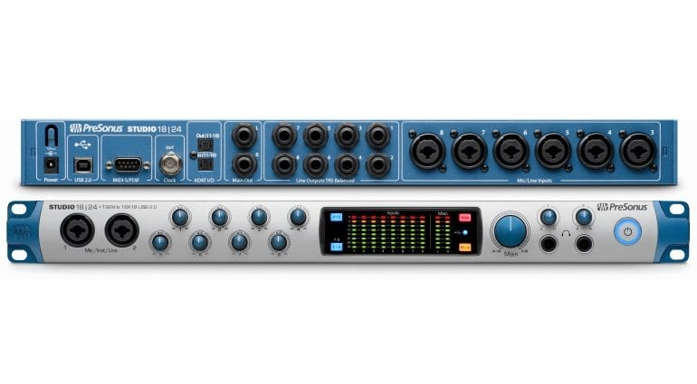 PreSonus Studio 18 24 front and back