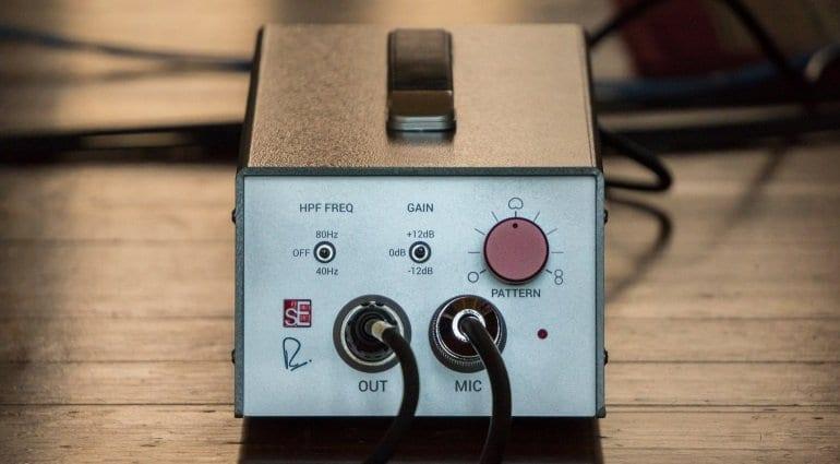 RNT tube mic transformer