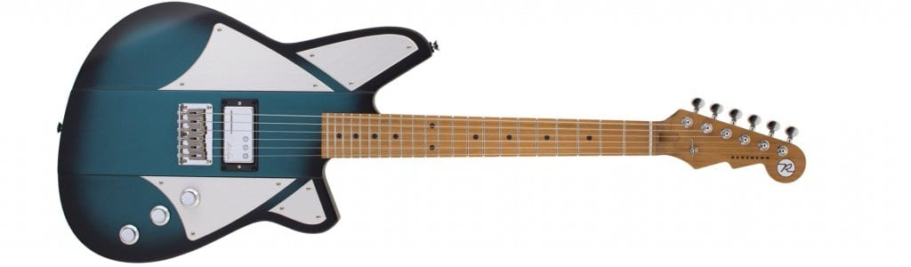 Reverend Billy Corgan Terz in Satin Deep Sea Blue Burst