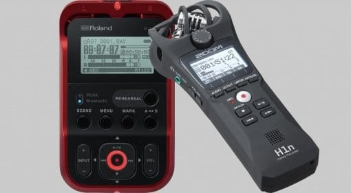 Roland R-07 and Zoom H1n featured