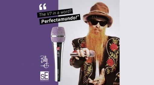 SE V7 BFG dynamic microphone