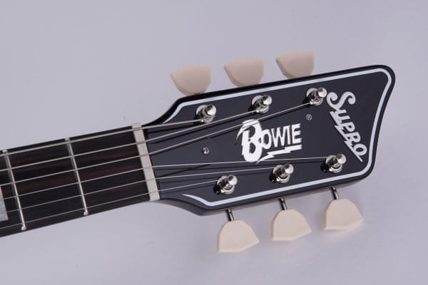Supro Bowie headstock