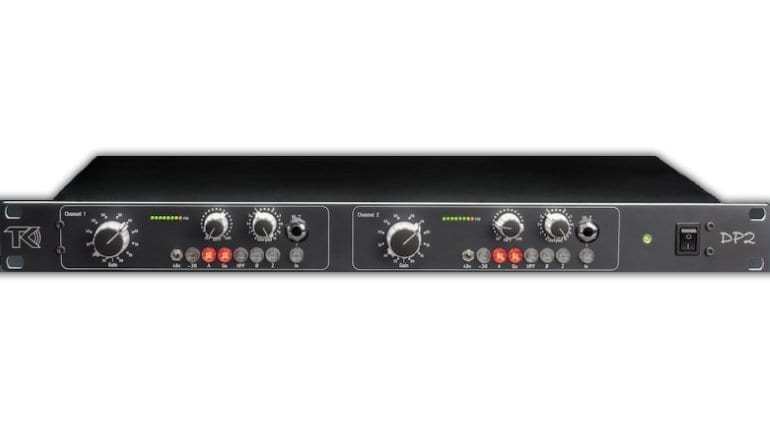 TK DP2 microphone preamp