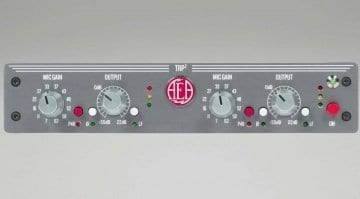 TRP2 ribbon mic preamp