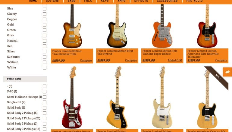 Leak Fender Preps New Parallel Universe Series For Namm 2018 Launch