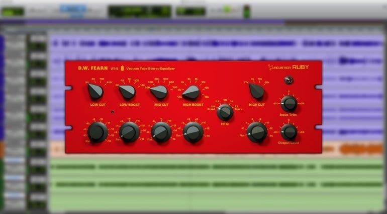 Acustica Audio Ruby Fern plug-in