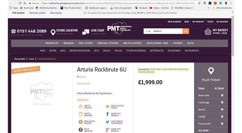 Arturia leak PMT