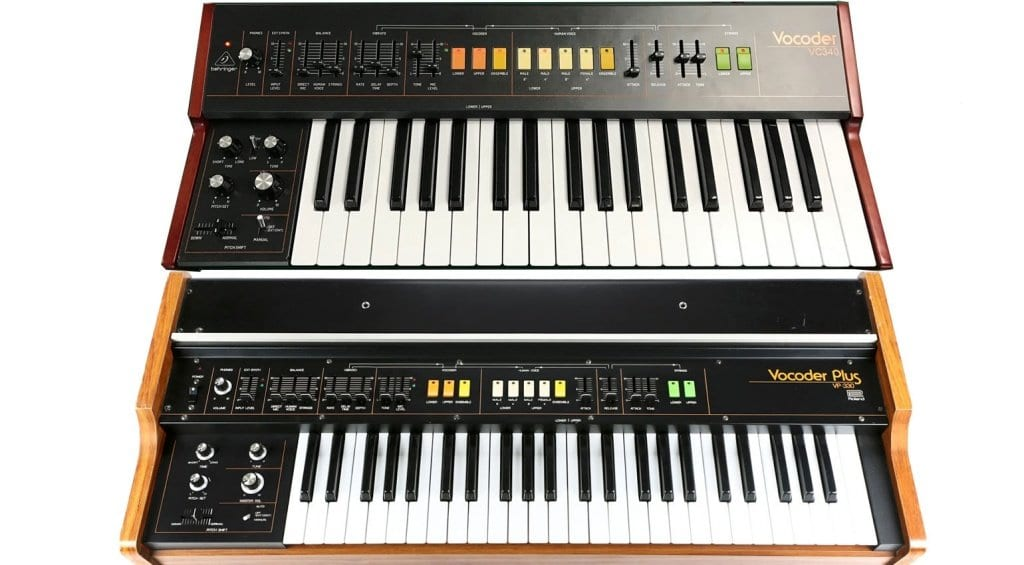 Behringer VC340 and Roland VP-330